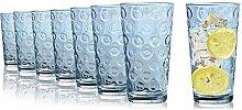 Tivoli Maryland Wassergläser - 490 ml - Set aus 8