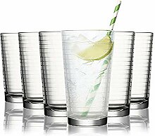 Tivoli Sydney Wassergläser - 485 ml - Set aus 6 -