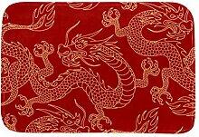TIZORAX Chinese Dragon Area Teppich Teppich