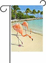 TIZORAX Flamingo Strand Meer Regenwald,