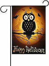 TIZORAX Happy Halloween Vollmond-Laterne Kürbis