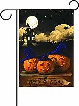 TIZORAX Moonlight Pumpkin Hexe Halloween