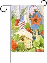 TIZORAX Patriot USA Flagge Fahne Vogelhaus,