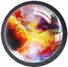 Tizorax Schubladenknöpfe, fliegender Phoenix