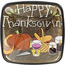 TIZORAX Schubladenknöpfe Happy Thanksgiving Foods