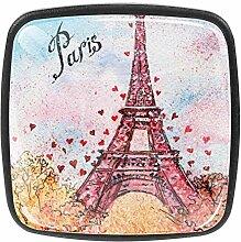 TIZORAX Schubladenknöpfe Paris Eiffelturm