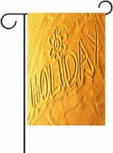 TIZORAX Sunshine Holiday Sandbeach Garten Flagge