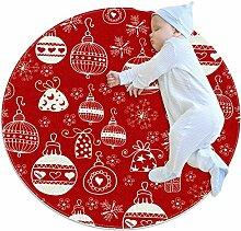 TIZORAX Teppich, Weihnachts-Zottelteppich, für