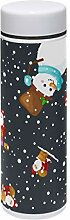 TIZORAX Thermosflasche mit Weihnachtsmann und