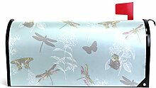 TIZORAX Vintage Schmetterling Libelle Pusteblume