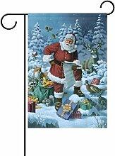 TIZORAX Weihnachtsmann-Geschenk, doppelt,