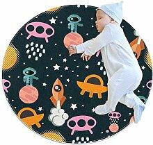 TIZORAX Zottelteppich, runder Teppich, für