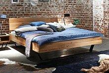 TJOERNBO, Bett Modern Sleep Baumkante, 160x200 cm,