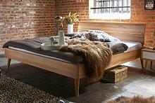 TJOERNBO, Bett Modern Sleep Retro, 200x200 cm,