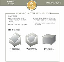 TK Classics Barbados-12C Terrassenmöbel-Set aus