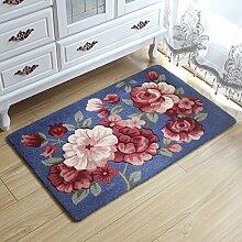 Tkopainsde 3D Flower Teppich Kinderzimmer, Küche Teppiche Bad Teppich, Fußmatte Eingangstür Matten Outdoor, Günstige Badematte, 3, Ca. 40 X 60 Cm