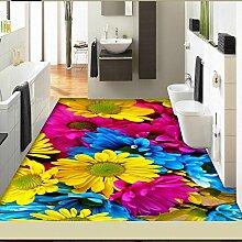 Tkopainsde Fußmatten Badewanne Dusche Wc Badematte Anti-Rutsch-Gesundheit Absaugung Badewanne Dusche Große 3D-Pad, 80 Cm * 200 Cm 179