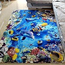 Tkopainsde Fußmatten Badewanne Dusche Wc Badematte Anti-Rutsch-Gesundheit Absaugung Badewanne Dusche Große 3D-Pad, 50 Cm * 160 Cm 346