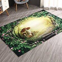 Tkopainsde Fußmatten Badewanne Dusche Wc Badematte Anti-Rutsch-Gesundheit Absaugung Badewanne Dusche Große 3D-Pad, 80 Cm * 100 Cm 158