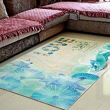 Tkopainsde Fußmatten Badewanne Dusche Wc Badematte Anti-Rutsch-Gesundheit Absaugung Badewanne Dusche Große 3D-Pad, 120 Cm * 120 Cm 152