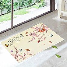 Tkopainsde Pad Oberflächenwellen Matten Wc Badematte Teppich Auf Der Haushalte Tür Matte, 500 Mm X 800 Mm 11.