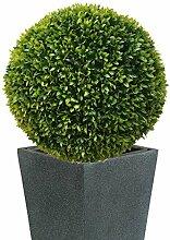 TLC 40 cm Ø künstliche Buchsbaumkugel, EDEL