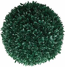 TLC künstliche Buchsbaumkugel (dunkel grün