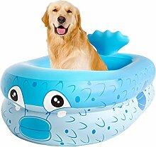 TLM Toys Aufblasbarer Pool, Baby-Planschbecken,