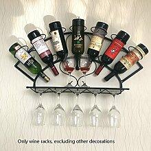 TLMY Kontinental auf der Wand Wein Weinregal Wand
