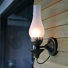 TLMY Nostalgische Kreative Antike Wandlampe Des