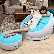 TLMYDD Aufblasbarer Sessel mit aufblasbarem Stuhl,
