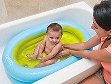 TlueTathtub Aufblasbare Pool Aby Kinder Tragbare Aufblasbare Pool Kinder Badewanne Mit Air Inflator 86Cmx64Cmx23Cm