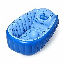 TlueTathtub Neue Hot Aufblasbare Pool Baby Schwimmbad Piscina Für Kinder Portable Outdoor Kinder Waschbecken Badewanne, Blau