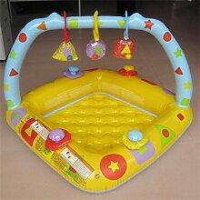 TlueTathtub Schöne Tragbare Aufblasbare Square Swimming Pool Mit Wasser Zu Hause Eltern-Kind-Interactionplayground Piscina Bebe Wanne Ein 024, Als Bild