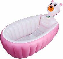 TlueTathtub Tragbare Falten Storage Aufblasbare Babywanne Kinder Erhöhen Verdickung Falten Kinder Waschbecken Kinder Wanne Baby Pool, 1.
