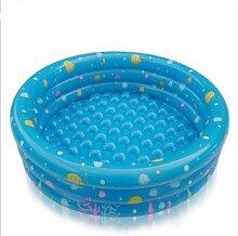 TlueTathtub Trinuclear Aufblasbare Pool Baby Schwimmbad Piscina Inflavel Für Neugeborene Portable Outdoor Kinder Waschbecken Badewanne Für Kleinkinder, 3