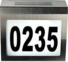 TLW direkt 1849 Hausnummernleuchte, Solar