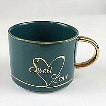 TLYFD Afternoon Teetasse, Keramik, Kaffeetasse,