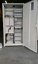 TM: Hager Zählerschrank 1 Zähler 1100mm (Tab 2015) / ZB322P17K + 1 Hager SLS 40A, 24x MBN116, 1x CDA440D FI, + 2x Phasenschiene 12TE , für das Einfamilienhaus