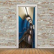 TMANQ 3D Tür Aufkleber Wandbild Ideen Für
