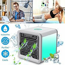 TMKOO Mini Luftkühler Ventilator Air Cooler Mobil