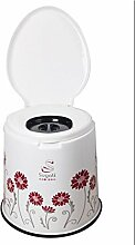 TMZLL Rutschen Sie Sitz Stuhl schwanger Toilette für ältere Menschen bewegen alten potty Toilette Hocker WC Toilette Stühle , 1