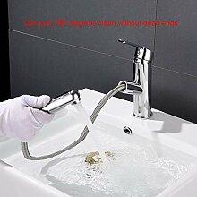 TNR® Wasserhahn Badezimmer Ausziehbecken