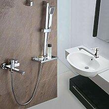 TNR® Wasserhahn Badezimmer Dusche Wasserhahn mit