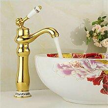 TNR® Wasserhahn Becken Wasserhähne Vergoldung