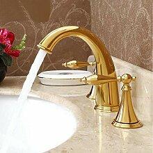 TNR® Wasserhahn Deck montiert antike Waschbecken