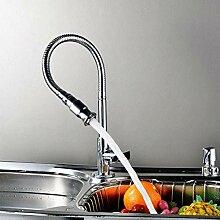 TNR® Wasserhahn Der Wasserhahn für die Küche um