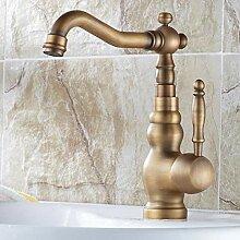 TNR® Wasserhahn Design Antik Bronze Messing