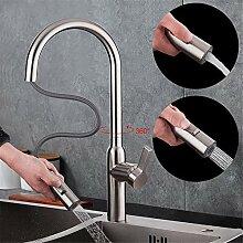 TNR® Wasserhahn herausziehen Küchenarmatur mit