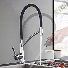 TNR® Wasserhahn Küchenarmatur Chrom Mit